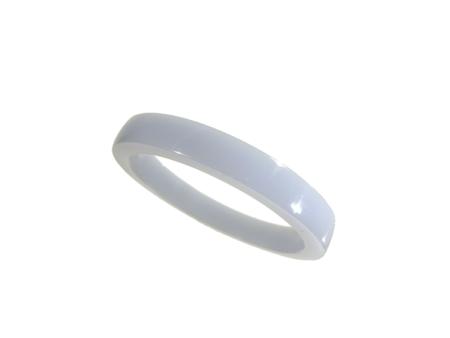 Akryl ring blank vacker ljusareblå