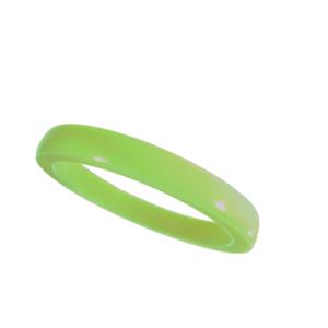 Akryl ring blank vacker gräsgrön