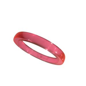 Akryl ring blank vacker ljuslila