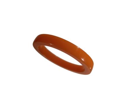 Akryl ring blank vacker ljusbrun