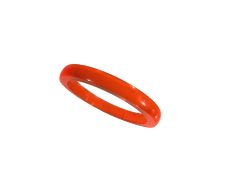 Akryl ring blank vacker neonhonung