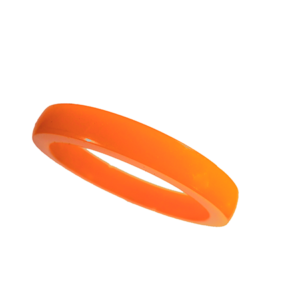 Akryl ring blank vacker orange