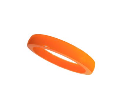 Akryl ring blank vacker orange