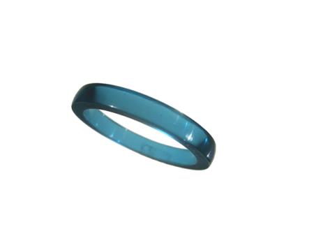 Akryl ring blank vacker smaragd