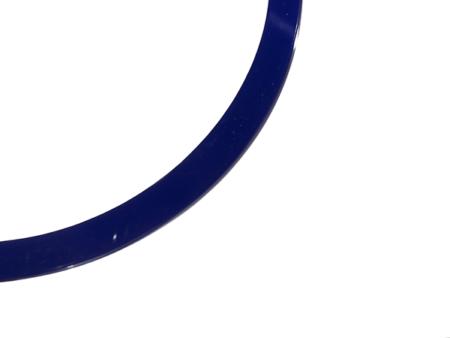 blankt armband blå