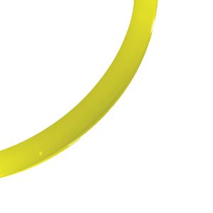 blankt armband gul