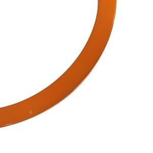 blankt armband i orange