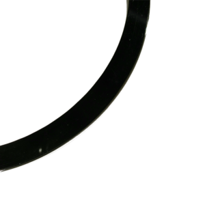 blankt armband i svart