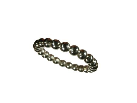 ring silver kultråd 3 mm