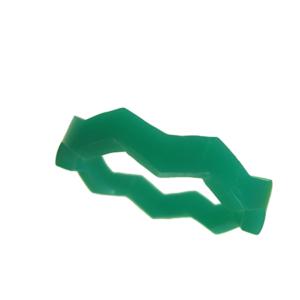 Blank akryl ring grön