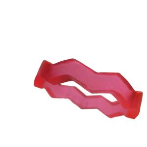 Blank akryl ring neonrosa
